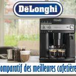 Comparatif cafetière delonghi