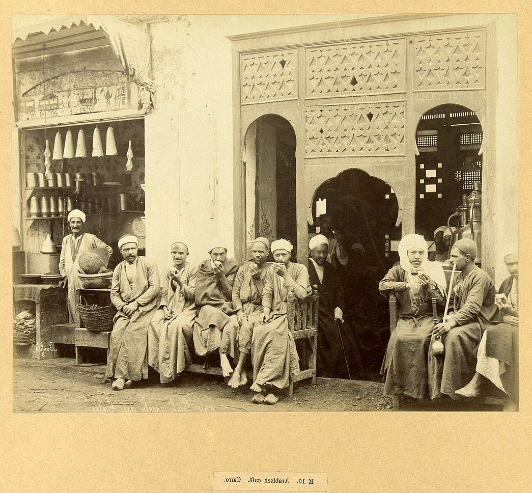 découvrez l'historie du café chez les arabes